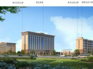 许昌市消防综合训练基地三站合一项目 玻璃幕墙工程企业形象